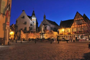 Camping - Camping des Trois Chateaux - Eguisheim - Alsace - France