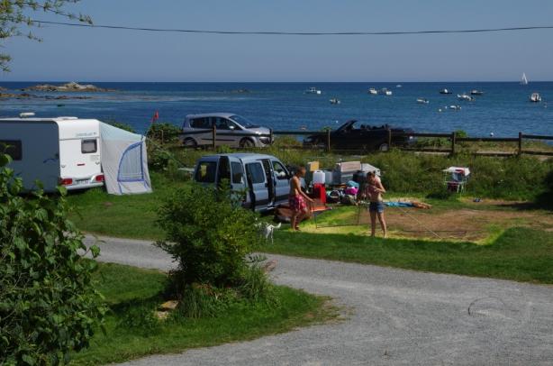 Camping l 39 anse du brick 5 toiles maupertus sur mer for Camping basse normandie bord de mer avec piscine