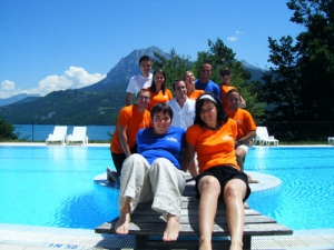 Camping lac de serre pon on 98 campings toocamp - Camping lac serre poncon piscine ...