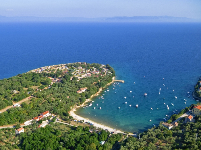 Camping - Labin - Istrie - Marina