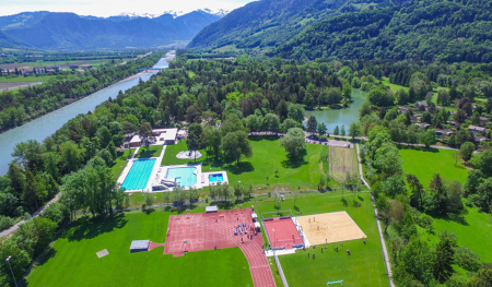 Camping - Bad Ragaz - Suisse Orientale - Camping Giessenpark