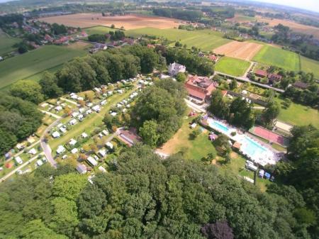 Camping ch teau du gandspette 4 toiles perlecques for Camping avec piscine nord pas de calais