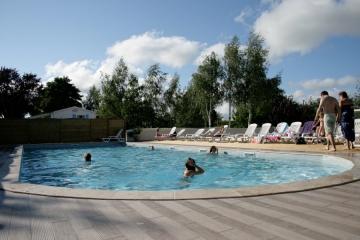 Camping les deux plages 4 toiles saint palais sur mer for Camping st palais sur mer avec piscine couverte